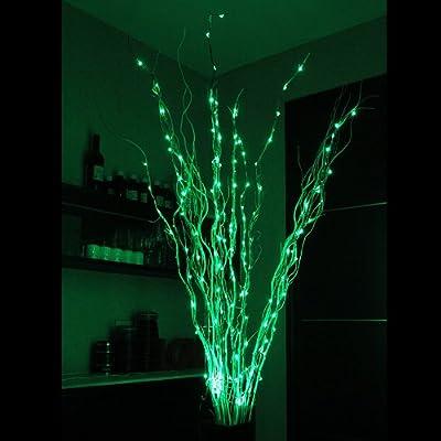 InnooTech 12x LED Weihnachtsbeleuchtung Lichterkette Innen für Weihnachten 180er INKL. Adapter von Innoo Tech - Lampenhans.de