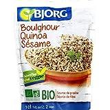 Bjorg - Boulghour, quinoa et sésame bio - Le sachet de 250g - Pirx Unitaire - Livraison Gratuit Sous 3 Jours