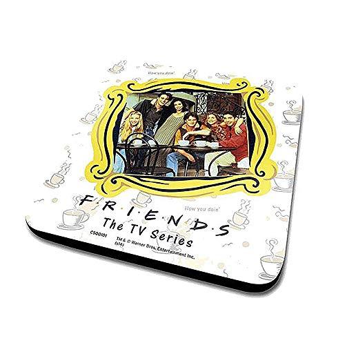 Echte Freunde gerahmt Single Coaster Getränke Matte TV Joey Ross Rachel Monica Phoebe Chandler - Chandler Chandler Platz