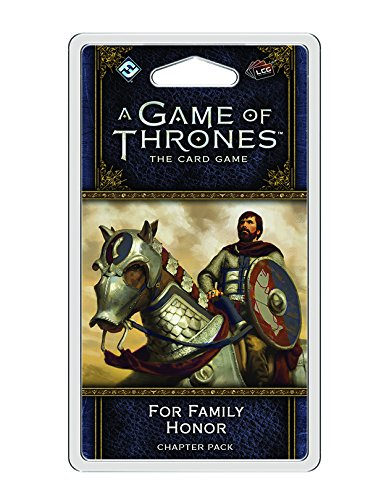 Preisvergleich Produktbild A Game of Thrones: The Card Game (Second Edition) - For Family Honor - English