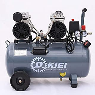 Low Noise Silent Air Compressor 50 Litre 9.6CFM 3.5HP Oil Free