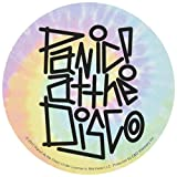"PANIC! AT THE DISCO TIE DYE, Officially Licensed Original Artwork, 4"" - Sticker DECAL"
