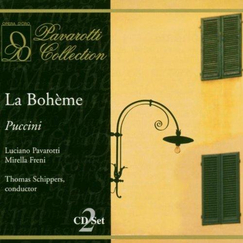 Puccini : La Boheme. Freni, Pavarotti, Bruscantini, Schippers.