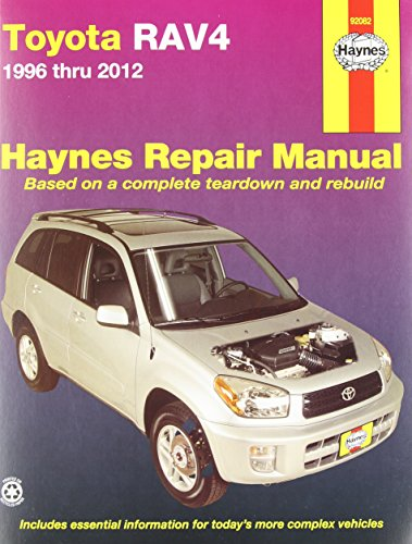 Toyota RAV4 Automotive Repair Manual: 1996-12 (Haynes Automotive Repair Manuals)
