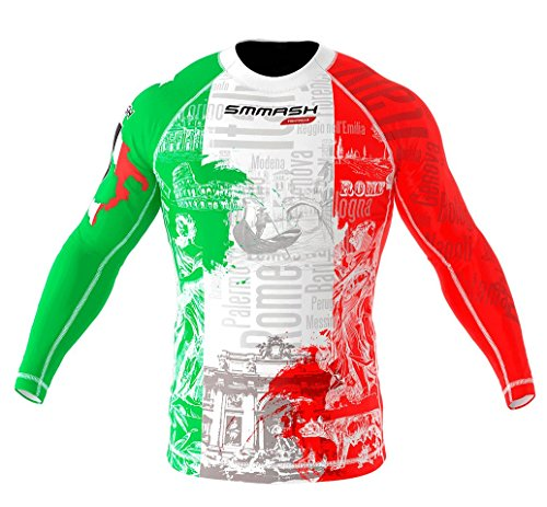 SMMASH Rashguard ITALY langarm MMA BJJ UFC Kampfsport