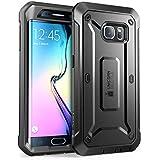Galaxy S6 Edge Hülle, Gehäuse / Case / Cover , SUPCASE Unicorn Beetle PRO Serie Schutzhülle / Tasche / Zubehör for Samsung Galaxy S6 (Schwarz)