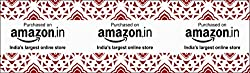 Amazon.in Branded Festive Tape (Pack of 12)