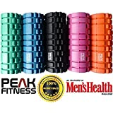 Peak Fitness Trigger Point Massage Foam Roller disponible dans le choix des...