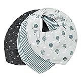 Pippi Baby Kinder Halstuch Dreieckstuch 3er-Set Heißluftballon