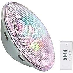Ledbox Lámpara LED para Piscinas GX53, 30 W, Blanco