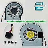 Fan Ventilador Nuevo Compatible para HP - Compaq Pavilion dv6-3300se dv6-3300sg dv6-3300ss dv6-3300sv 3 Pins