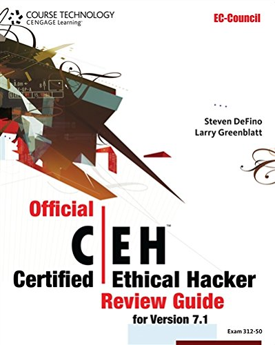 Official Certified Ethical Hacker Review Guide: For Version 7.1 (with Premium Website Printed Access Card and Certblaster Test Prep Software Printed A (EC-Council Certified Ethical Hacker (Ceh))