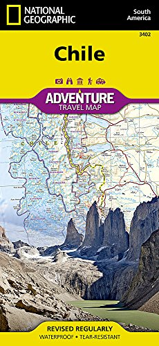 Chile : 1/1 750 000 (Adventure map)