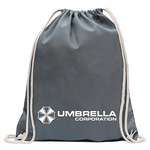 KIWISTAR - Umbrella Corperation Turnbeutel Fun Rucksack Sport Beutel Gymsack Baumwolle mit Ziehgurt