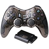 Spincart™ 6 In 1 2.4G Wireless Game Controller Gamepad With Vibration For PC Laptop Gaming Consoles Supports Windows XP/7/8/8.1/10 And PS1,PS2,PS3,PC360, Android, Vista TV Box Portable Gaming Joystick With LED Indicator