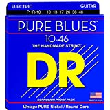DR PHR-10 Pure Blues Electric Guitar Strings 10-46