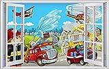 Feuerwehr Stadt Feuer Kin... Ansicht