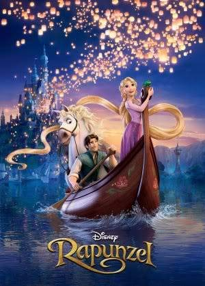 DISNEY TANGLED - RAPUNZEL – Imported Movie Wall Poster Print – 30CM X 43CM