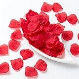 ZHANGYUSEN Seiden Rosenblätter Hochzeit Bevorzugung Party Dekoration Blumen Petalas Teppich Hochzeiten