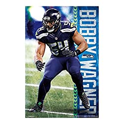 Trends International Seattle Seahawks Bobby Wagner Superstar Nfl Poster Rp15834