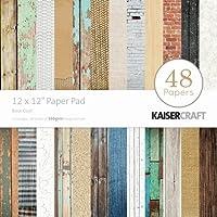 Kaisercraft Paper Pad 12-inch x 12-inch 48 kg-Base Coat