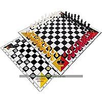 QuadroSchach-QuadroDame-Schach-und-Dame-zu-viert QuadroSchach + QuadroDame – Schach und Dame zu viert NEUE EDITION -