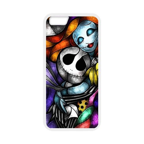 """The Nightmare Before Christmas en silicone TPU pour Apple iPhone 6S (4,7""""inch), iPhone 6S Coque de protection rigide Case Cover, iPhone 6(4,7pouces), beau design Coque de protection"""