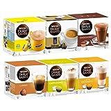 Nescafé Dolce Gusto Family Edition Set, Kaffee, Kaffeekapsel, 6 x 16 Kapseln