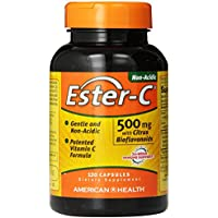 American Health Ester-C with Citrus Bioflavonoids, 500 mg, 120 Count