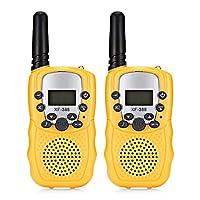 2pcs XF - 388 Children Walkie Talkies 2-way Radio 3KM Range 22 Channels Kids Toys