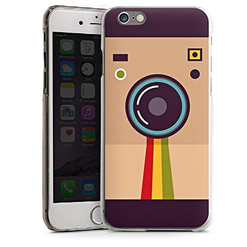 Apple iPhone 6 Plus Silicone Case Coque white - 80ies Pola CasDur transparent