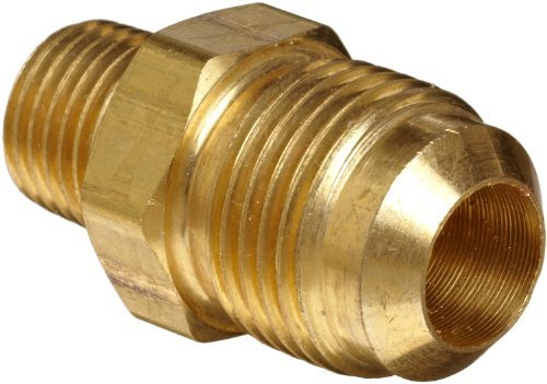 Brass Male Flare (Anderson Metals Brass Tube Fitting, Half-Union, 3/8 Flare x 1/4 Male Pipe by Anderson Metals)