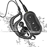 Aerb® 4 GB Lettore MP3 impermeabile Music Stream Player per Nuoto