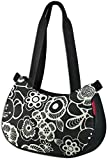KLICKfix Farradtasche Stylebag Fleur Schwarz