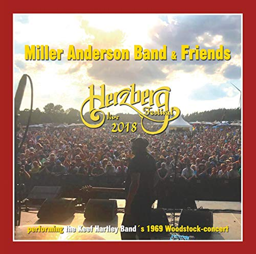 Live at Burg Herzberg Festival-2018 Anderson Band