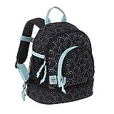 LÄSSIG Kinderrucksack Kindergartentasche mit Brustgurt/Mini Backpack Spooky black