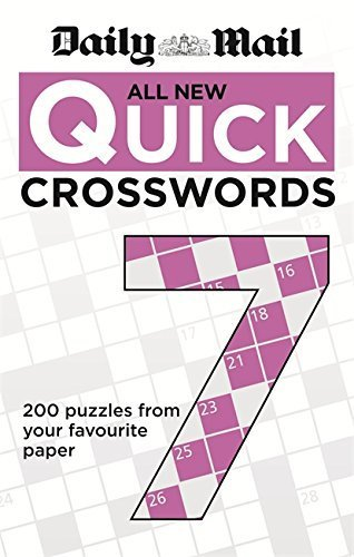 Daily Mail: All New Quick Crosswords: 7 (The Telegraph Puzzle Books) by Daily Mail (2014-06-02)