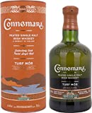 Connemara TURF MÒR Peated Single Malt Irish Whisky mit Geschenkverpackung (1 x 0.7 l)