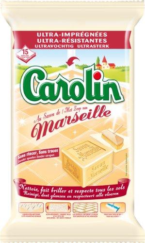 Carolin - Lingette - Savon de Marseille - X15