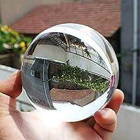 Uniqus 100mm Redondo Claro Cristal Artificial Cristal curación Ball Esfera decoración Perfecta un Regalo Maravilloso para