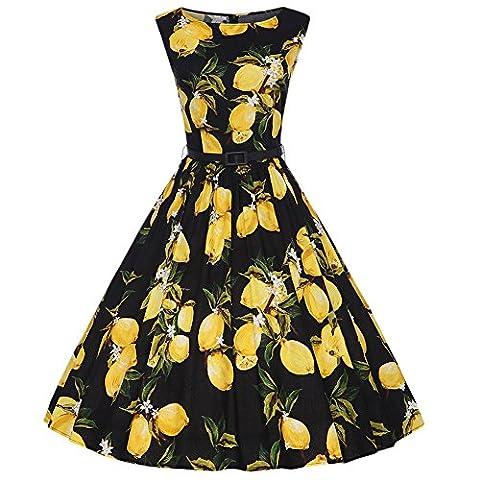 Rétro Vintage Années 50 's Classique Style Audrey Hepburn Rockabilly