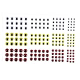 #10: Segolike 3D Fishing Eyes 183pcs Fishing Lure Eyes Great Accessory For Make Fishing Bait, Lures, Crafts
