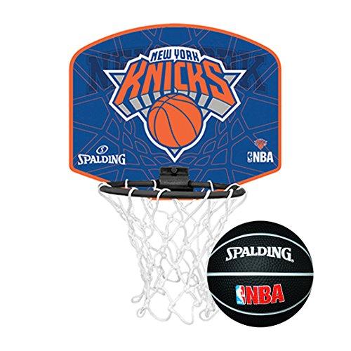 Spalding-Mini canestro da basket al logo di una squadra della NBA, Knicks de New York
