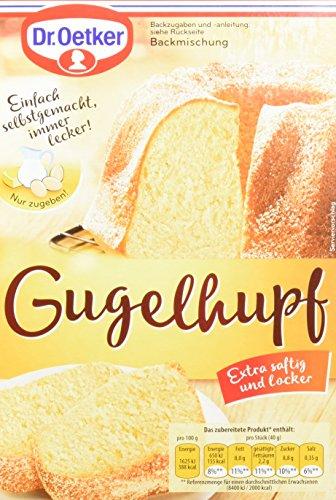 Dr. Oetker Gugelhupf, 8er Pack (8 x 460 g)