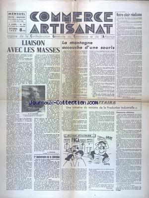 Du Commerce De La Souris - COMMERCE ET ARTISANAT [No 30] du 01/09/1946