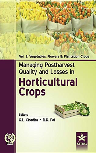 Managing Postharvest Quality and Losses in Horticultural Crops Vol. 3 por K. L. & Pal R. K. Chadha