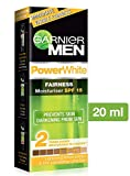 Garnier Men Power White SPF 15 Moisturiser, 20g