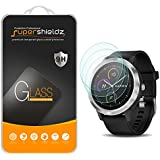 [3-Pack] Supershieldz For Garmin Vivoactive 3 Tempered Glass Screen Protector, Anti-Scratch, Bubble Free