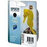 Epson T0481 Cartouche d'encre d'origine Noire pour R200 R220 300 320 340 ME RX500 600 620 640