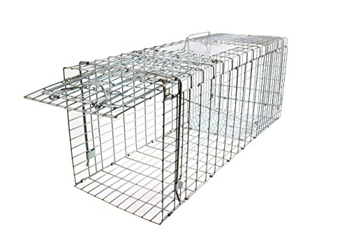 collapsible-galvanised-medium-size-80cm-live-catch-humane-animal-trap-with-safe-release-and-easy-acc